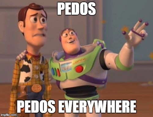 Pedos, pedos everywhere