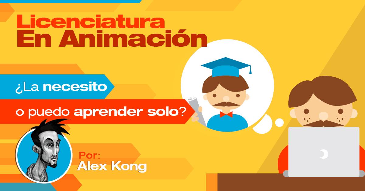 Licenciatura en Animación - Alex Kong