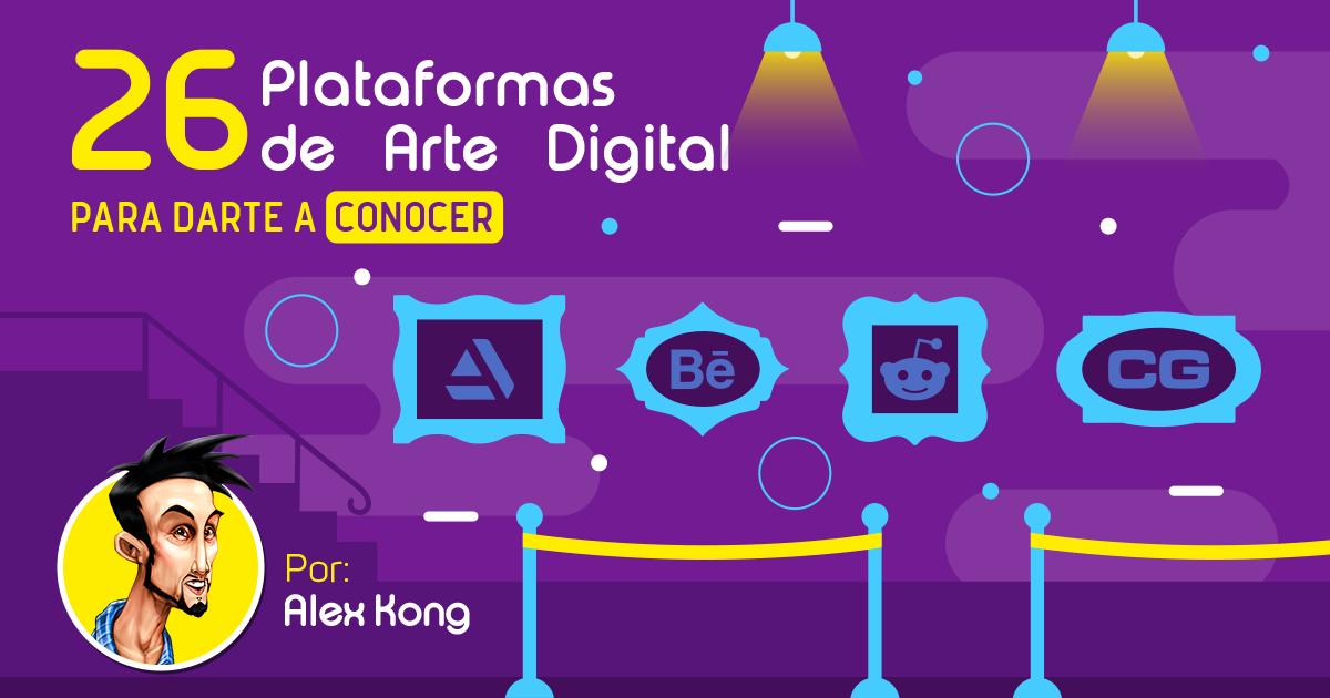 26 Plataformas de Arte Digital